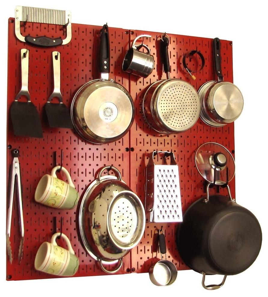 kitchen pegboard ideas