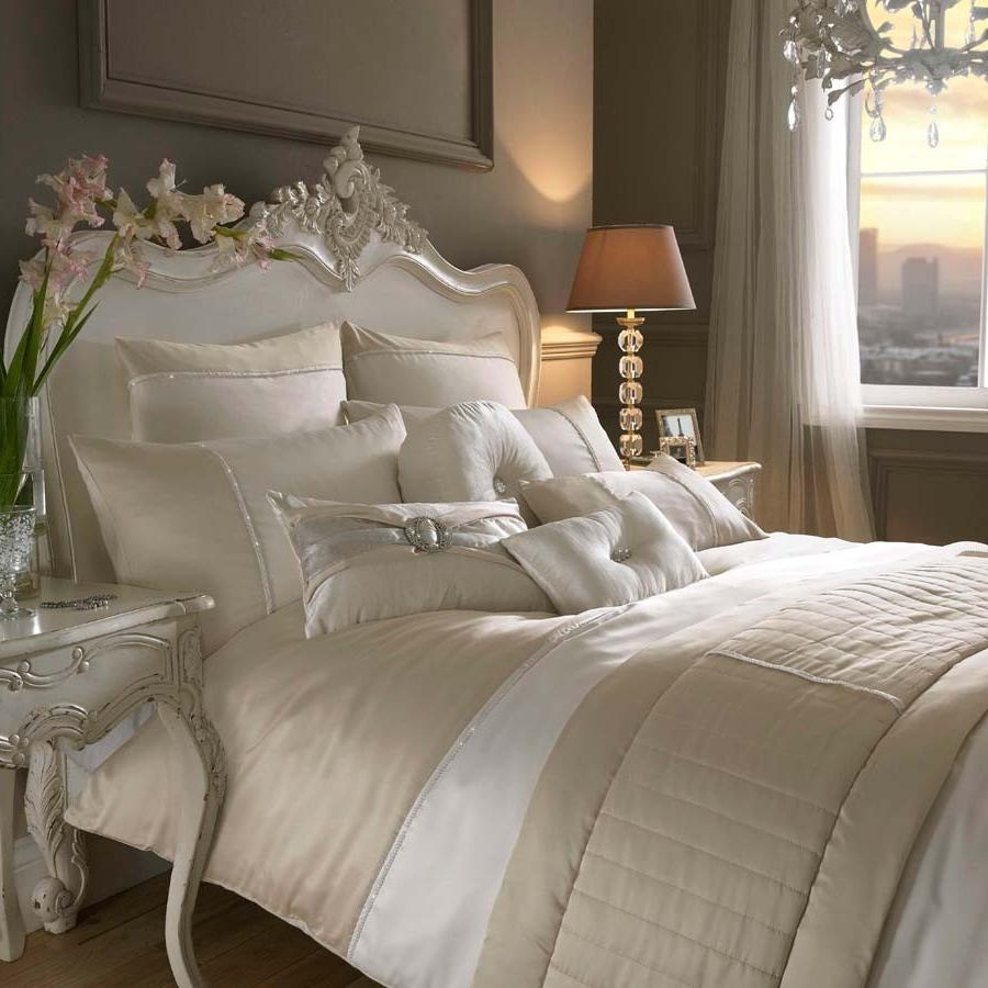 luxury silver grey bedding sets