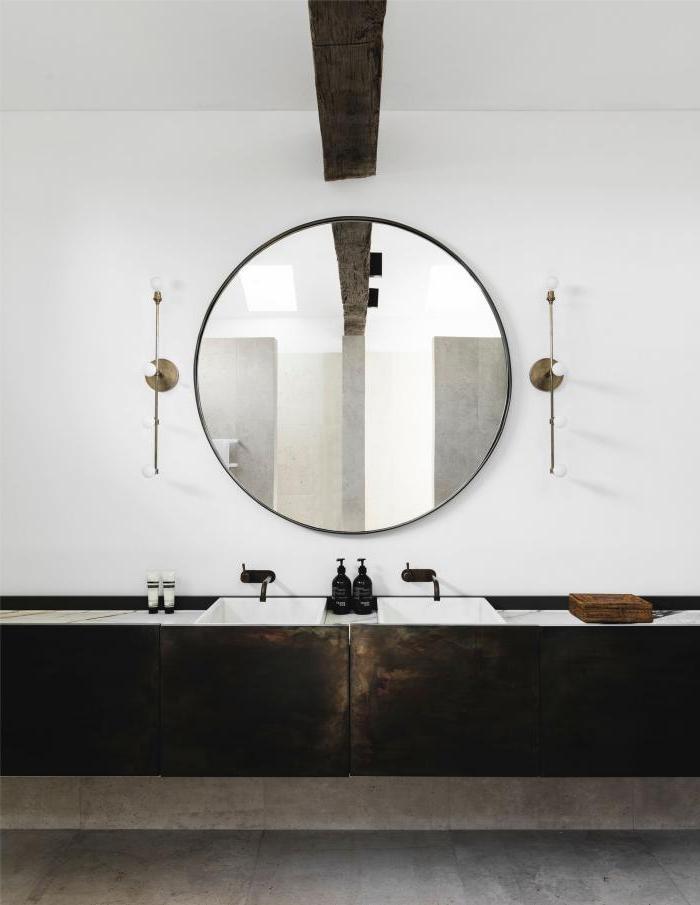 modern farmhouse bathroom vanity mirrors