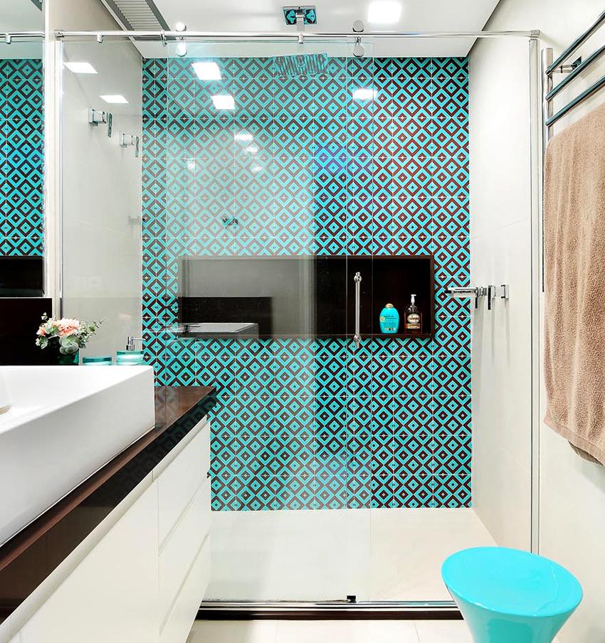 modern glass door for a shower
