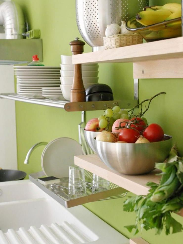 open shelving kitchen storage ideas