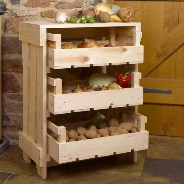 pallet storage ideas