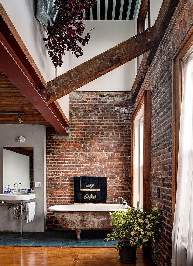 rustic bathroom vanity decor