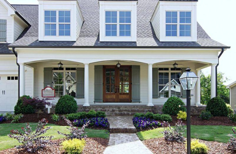 small concrete front porch ideas