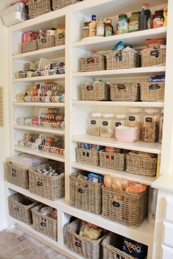 wicker basket storage ideas