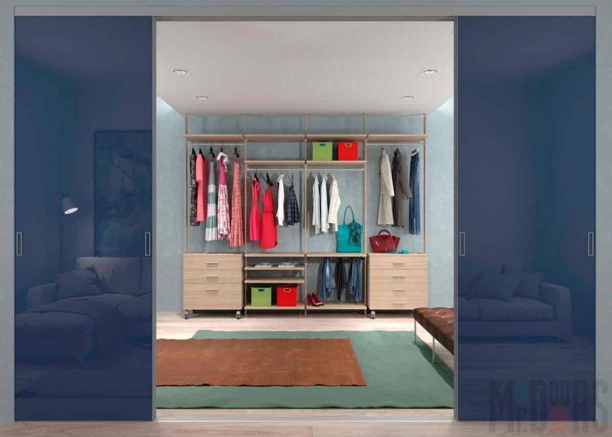 Design of a spacious dressing room
