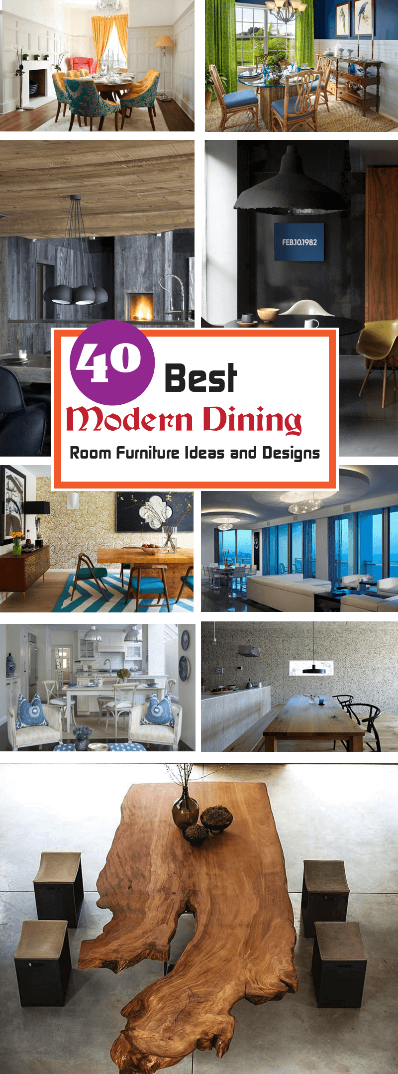 best Modern Dining Room Furniture ideas and designs