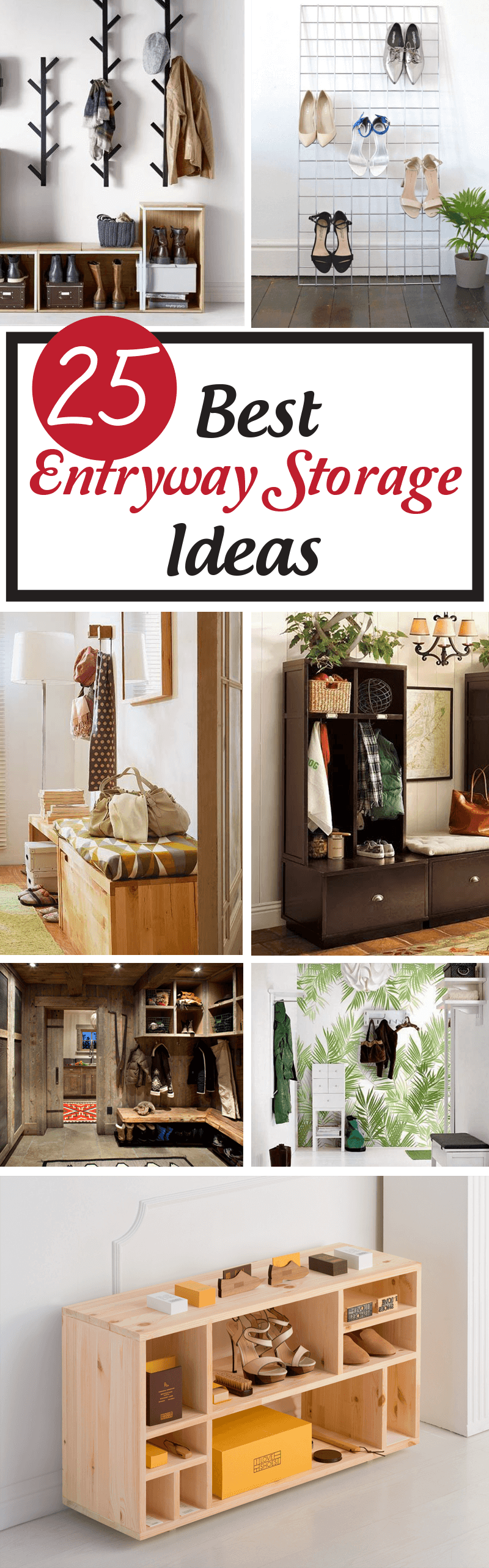 best entryway storage ideas