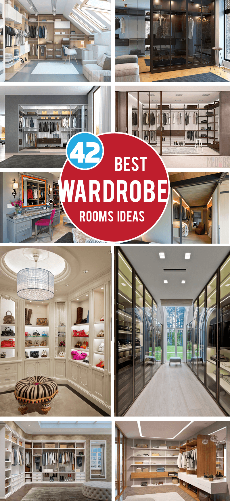 best wardrobe rooms ideas
