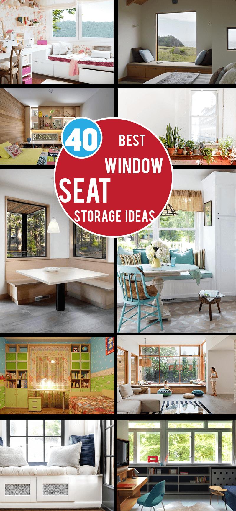 best windowseatstorage ideas
