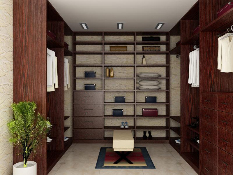 dark wood wardrobe rooms