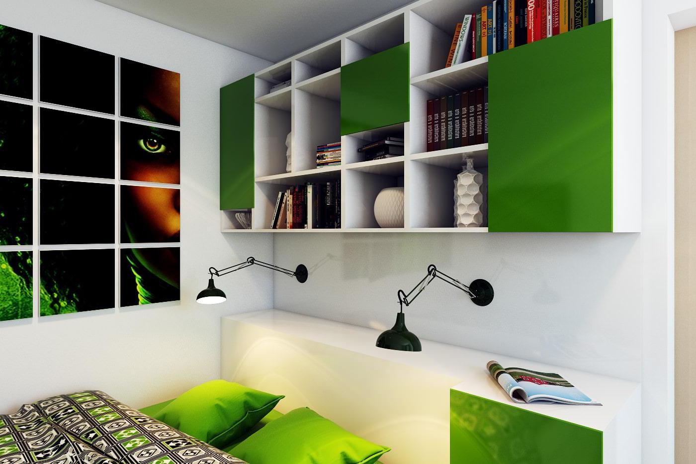 diy headboard storage ideas