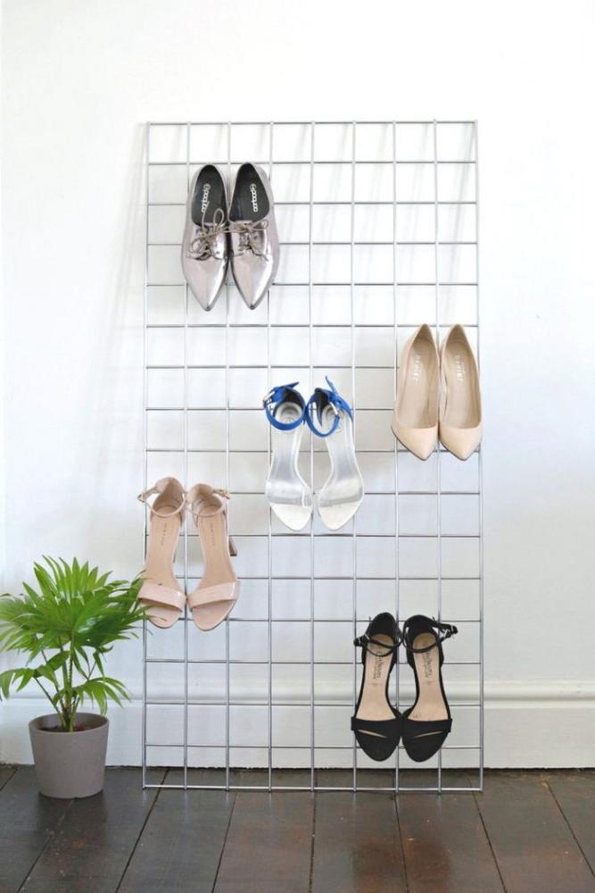 entryway storage for wall