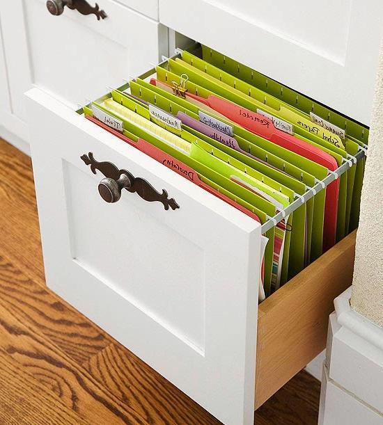 home office file organization ideas