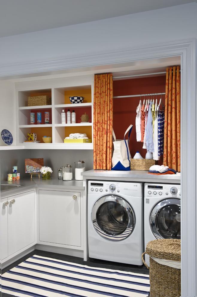 laundry room cabinet decor ideas