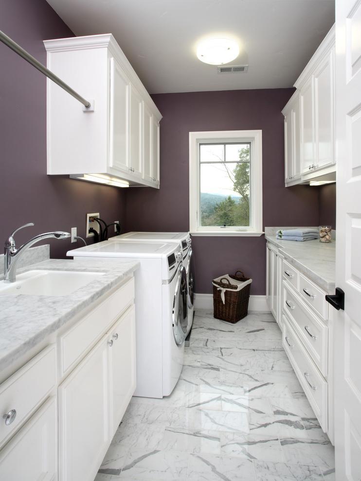 narrow laundry room designs