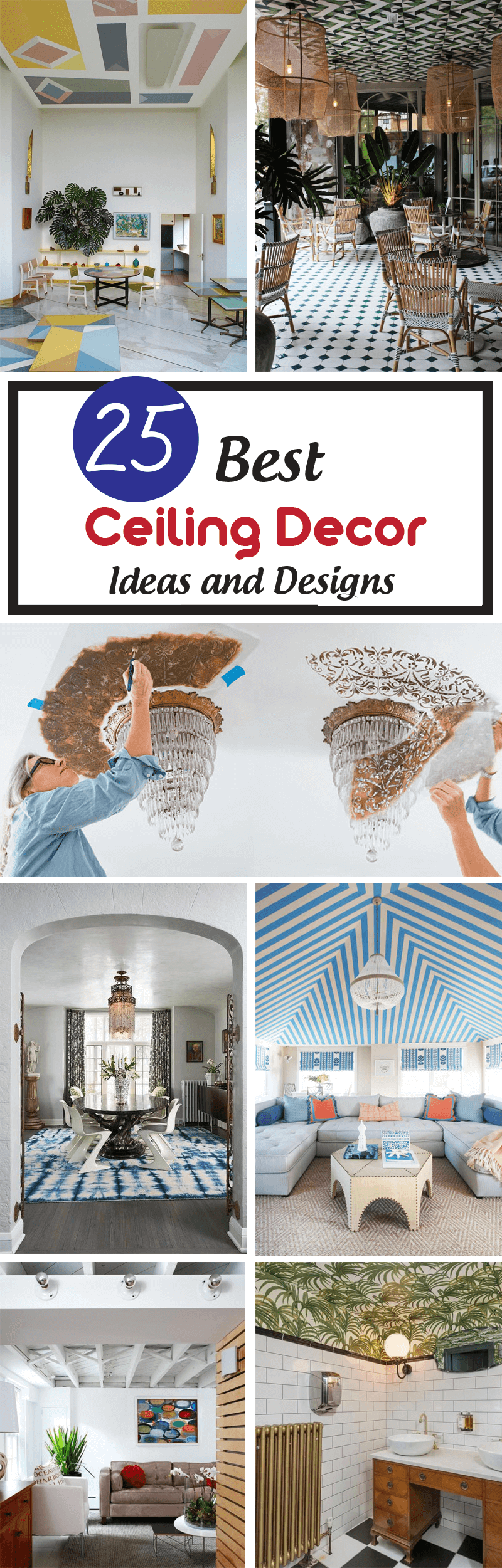 25 best ceiling decor ideas and designs