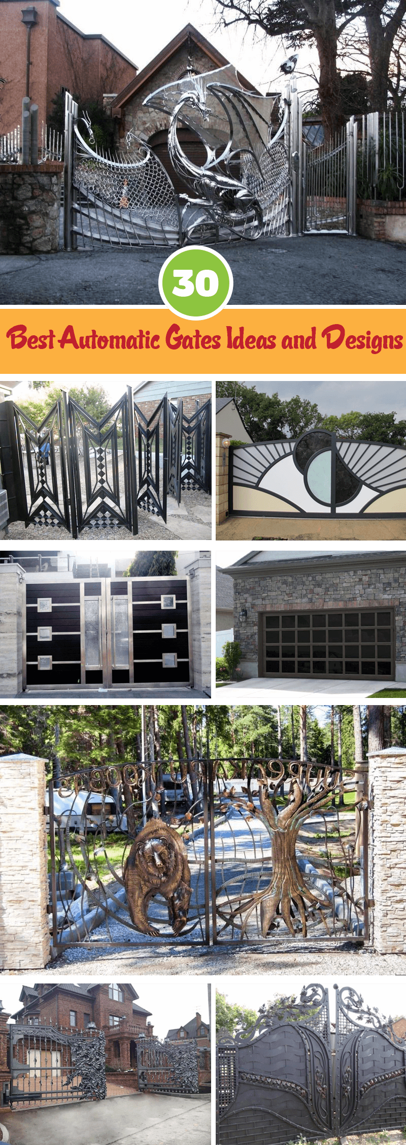 Best Automatic Gates Ideas and Designs