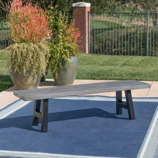 CONCRETE DINING BENCH