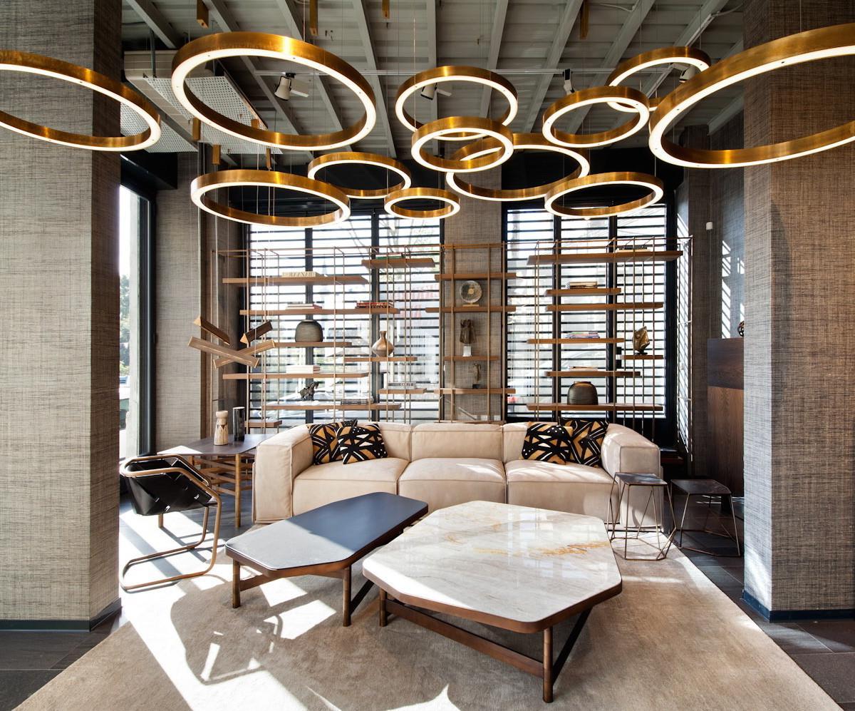 Metallic Hanging Light Designs