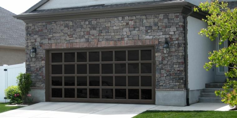 Modern and functional garage doors for house decoration