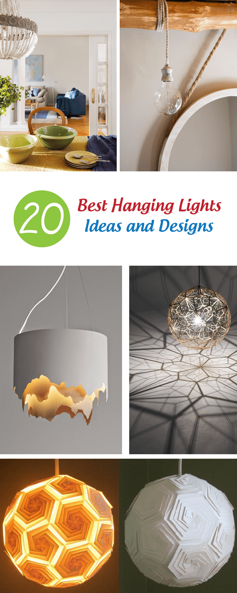 best hanging lights ideas and designs