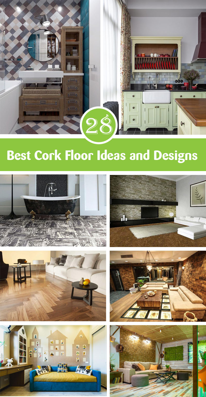 Best Cork Floor Ideas and Designs