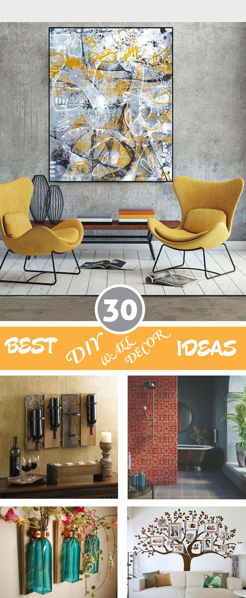 Best DIY Wall Decor Ideas