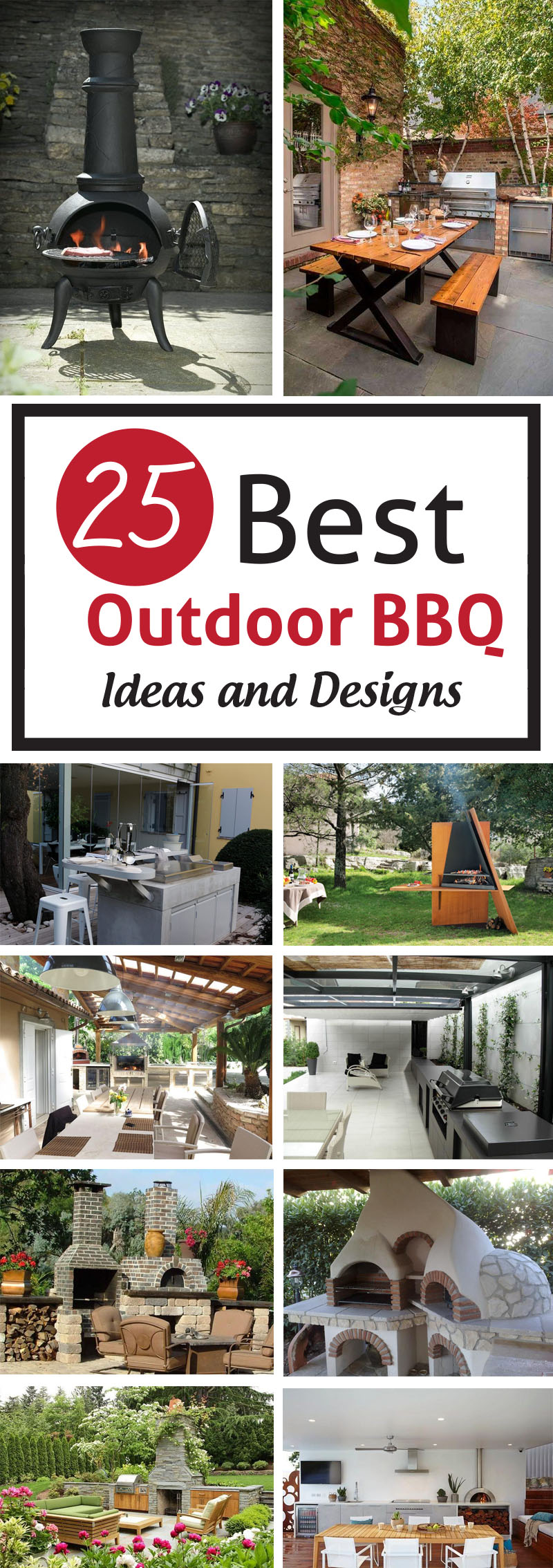 Best Outdoor BBQ Ideas and Designs