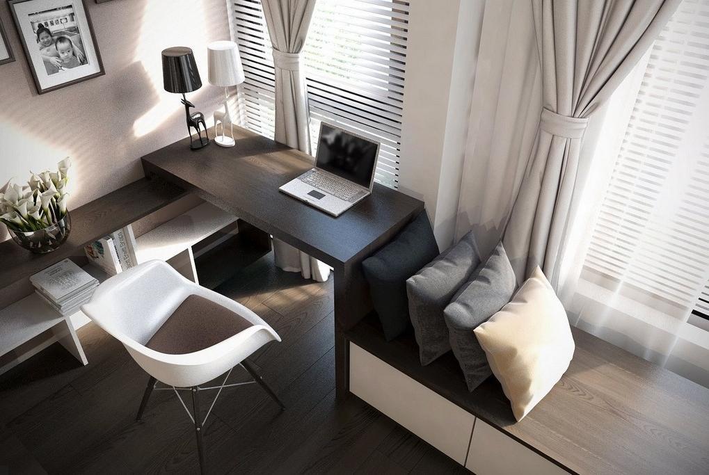 Built-in furniture system designed for storage