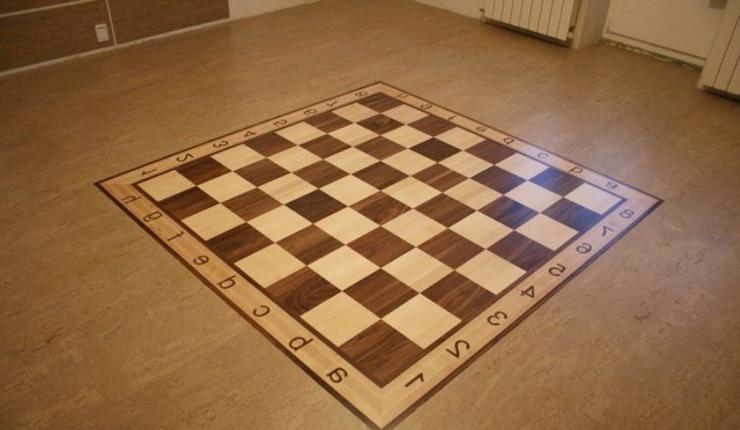 Game Inspired Cork Floor