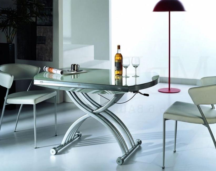 Metal and glass - looks stylish
