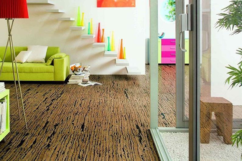 Rustic Cork Floor