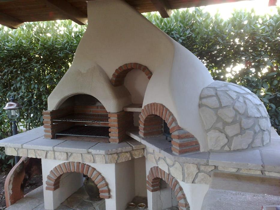 Traditional a wood oven