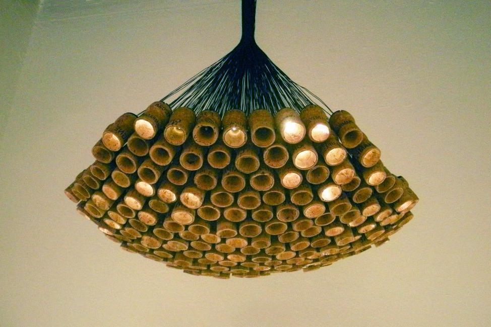Wine cork model