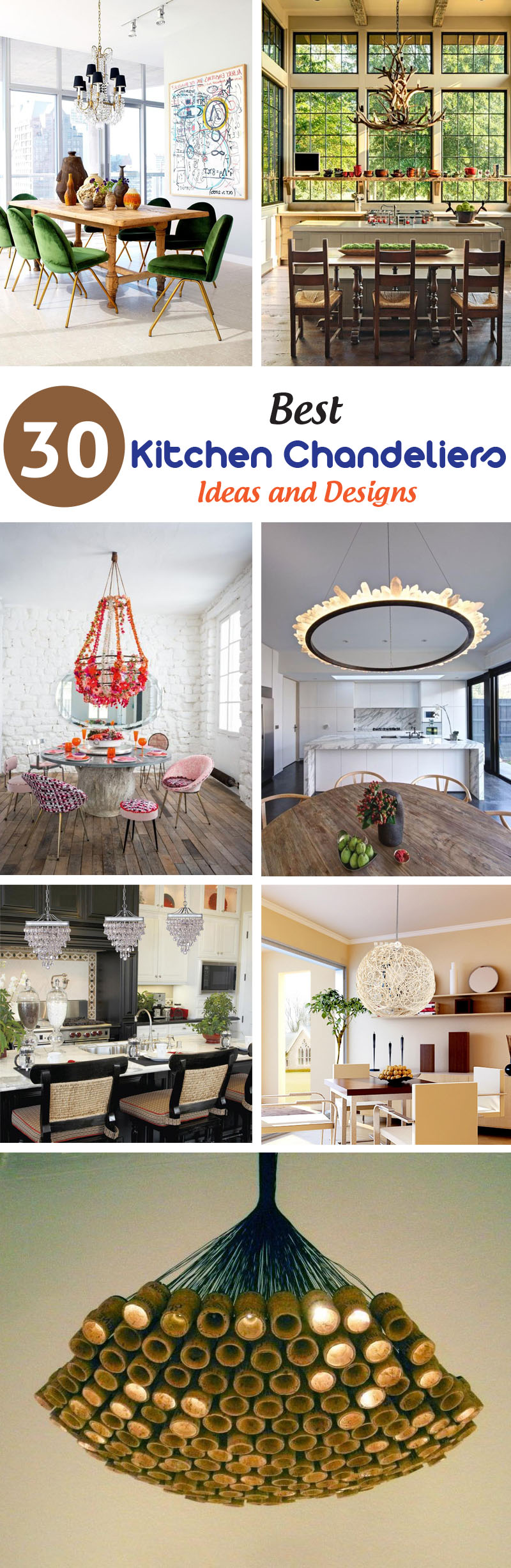 best kitchen chandeliers ideas and designs