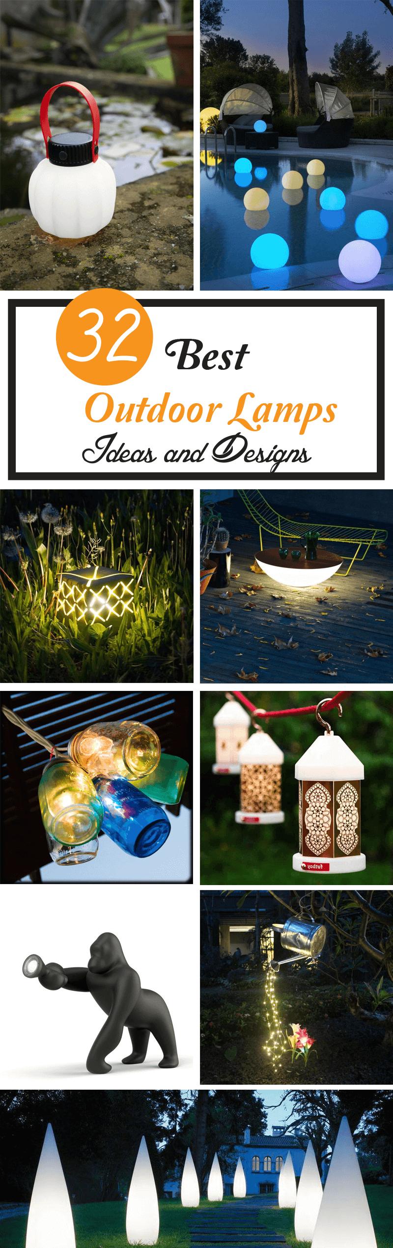 best outdoor lamps design ideas