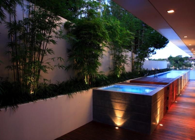 box ground pools design