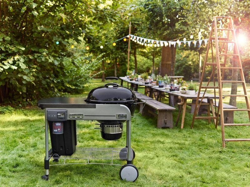 grill can be used year-round and where convenient