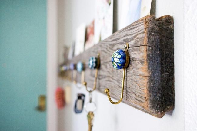 Beautiful key hooks