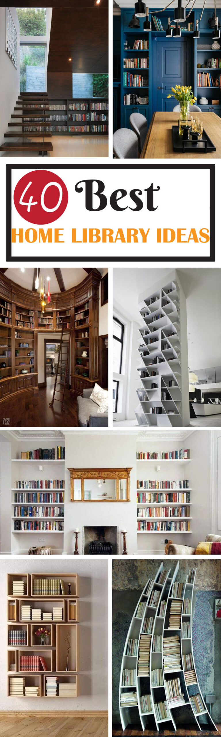 Best Home Library Ideas and Designs