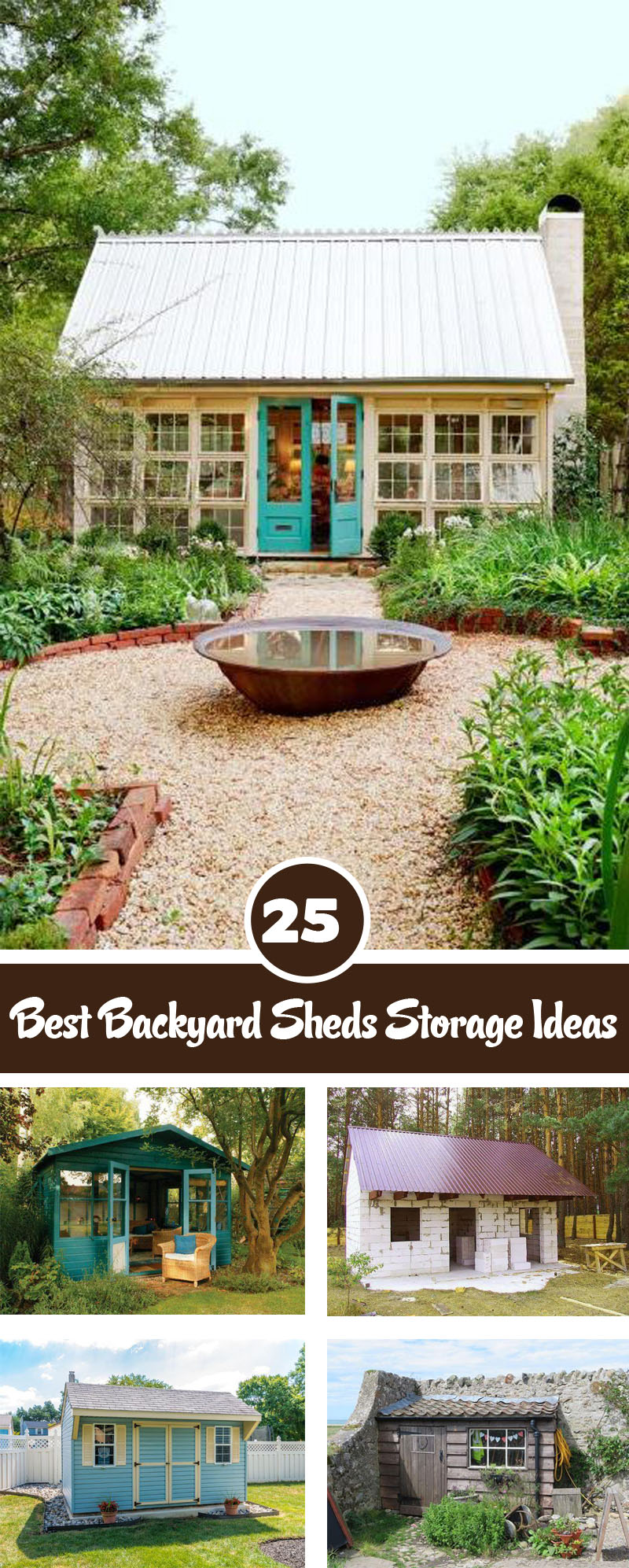 Best backyard Sheds storage ideas