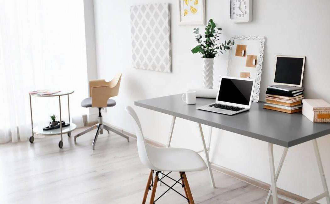 Inexpensive Small Office Design
