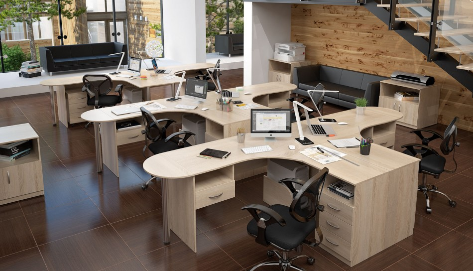 Office space zoning