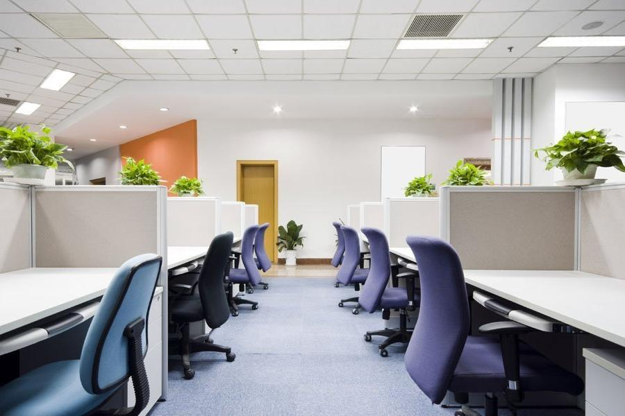 Smart LED luminaires for small office