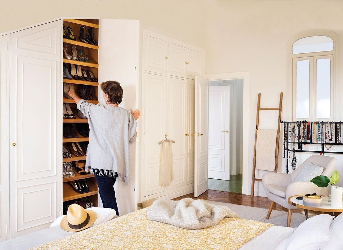 TWO LARGE BUILT-IN WARDROBES