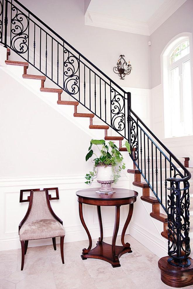 Wrought Victorian Stacked Staircase