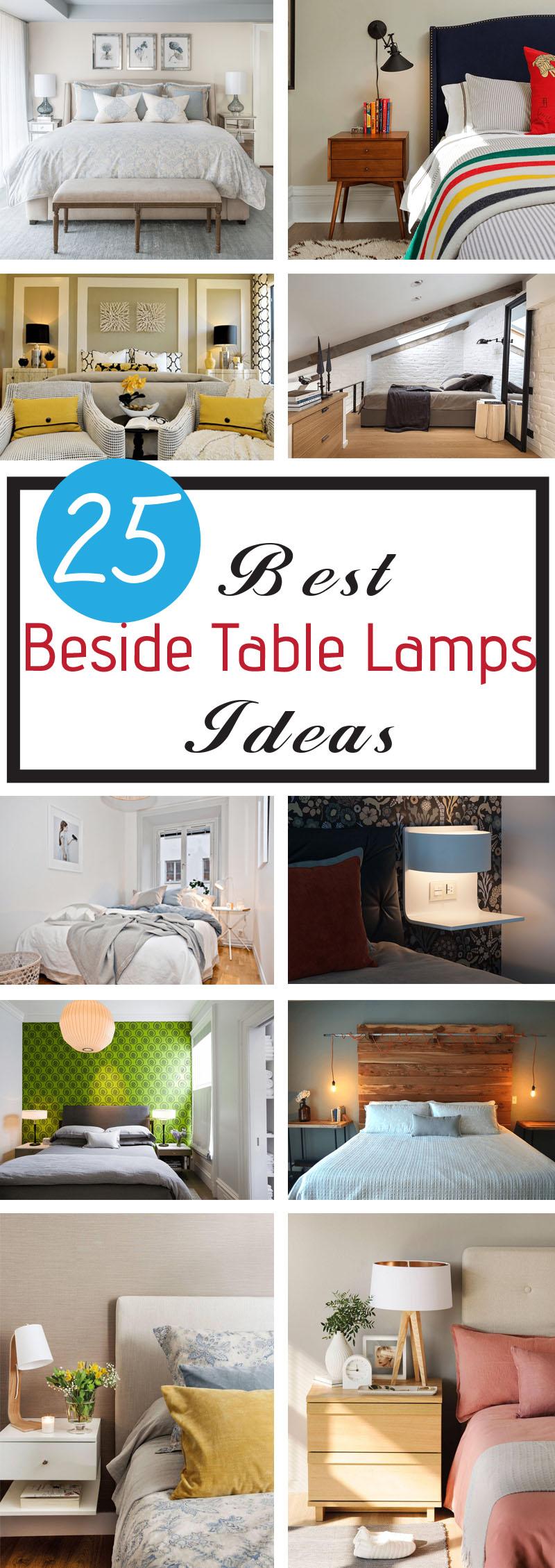 best beside table lamps ideas
