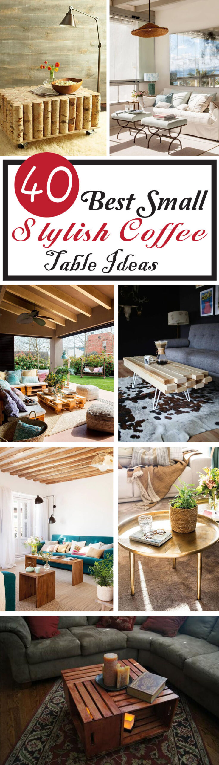 best small coffee table ideas