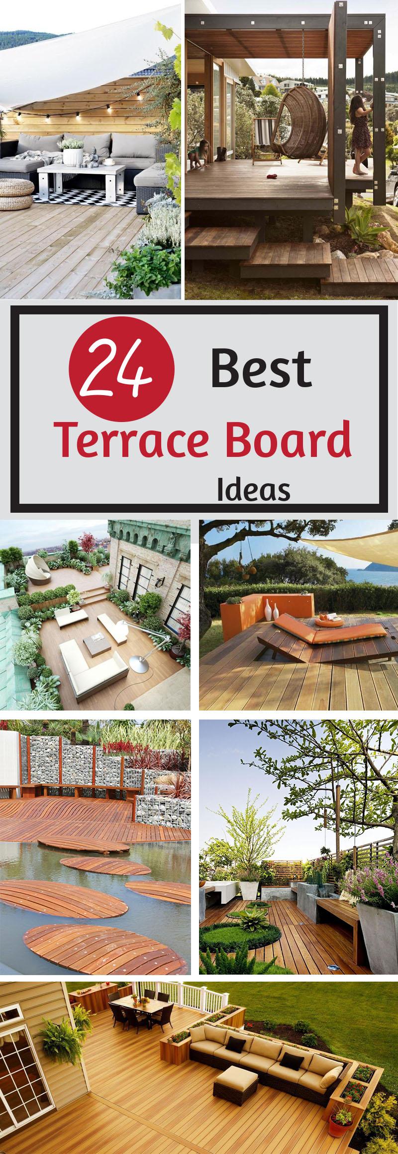 best terrace board ideas
